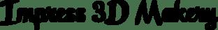 impress 3d makery logo